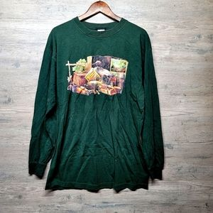 Vintage Hunting Outdoors Long Sleeve Shirt. Great!